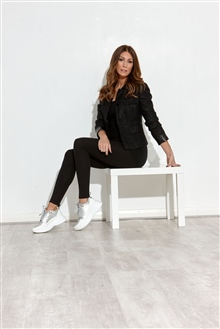 Business Jacket Silver Sneakers